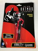 HARLEY QUINN BENDABLE ACTION FIGURE -THE NEW BATMAN ADVENTURESNIP NJCroce Brand