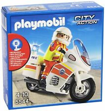 PLAYMOBIL 5544 Coast Guard Emergency Motorbike /Sauveteur avec Moto NEUF-NEW-NEU