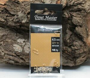 Spro Trout Master Incy Snap 3mm 3,5mm 4mm 4,5mm Micro Forellenangeln NEW OVP