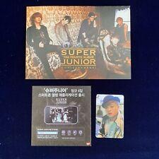 Super Junior Shindong Bonamana Album Cd Photocard Book Kpop Smtown Snsd Exo Yg