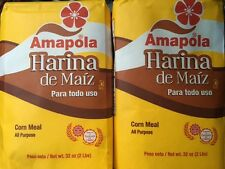 HARINA DE MAIZ AMAPOLA(CORN MEAL) 2 PACK 32 OZ EACH FROM PUERTO RICO