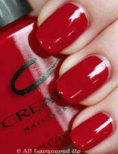 CREATIVE NAIL DESIGN BY SHELLAC VERNIS A ONGLES TENUE EXCELLENTE ROUGE SCANDALE
