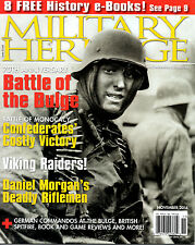 Lot of 2 Magazines: Military Heritage Nov 14 & Modern War Jan / Feb 2015 NEW