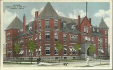 OLD VINTAGE NATIONAL TUBE CO. OFFICE IN LORAIN OHIO 1915 POSTCARD