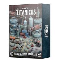 Adeptus Titanicus Civitas Imperialis Industrial Scenery Terrain Warhammer 40K