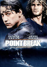 POINT BREAK THE ORIGINAL WITH KEANU REEVES & PATRICK SWAYZE.  BRAND NEW NOT OPEN