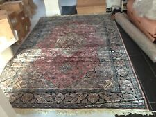 Brand New Beautiful 100% Turkish Silk Hand Made Sultan Rug 2m x 3m Rrp £4500!!!!