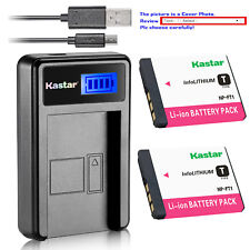 Kastar Battery LCD Charger for Sony NP-FT1 FT1 & Sony Cyber-shot DSC-T5 Camera