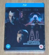 A.I. Artificial intelligence (blu-ray) Steelbook. NEW & SEALED (UK release)