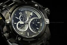 Invicta 52mm Retrograde Day Coalition Forces Triple Black Chronograph SS Watch