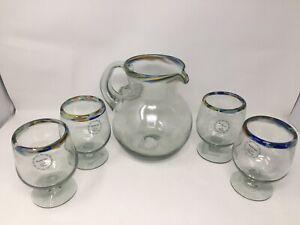 Mexican Glassware Sangria Gift Set
