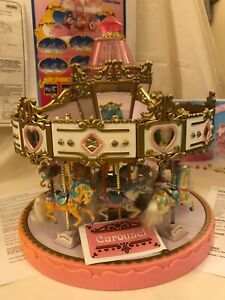Matchbox Carousel with 10 Horses Posters & Assembly Instruction sheet 1980's
