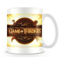 Game Of Thrones Logo Mug Ceramic Cup Boxed Tea Coffee Ideal Gift
