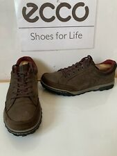 Ecco Receptor Comfy Casual Leather Shoes/Sneakers Size UK 8 EU 42
