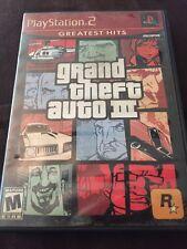 Playstation 2 Grand Theft Auto Liberty City Very Good