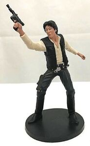 Disney Store Authentic HAN SOLO FIGURINE Cake TOPPER New Hope STAR WARS NEW