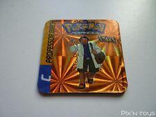 Magnet Staks Pokémon Advanced / C Professor Birch / Panini 2003 [ Neuf ]