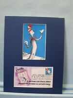 The Cat in the Hat by Dr. Seuss & First day Cover of his own stamp