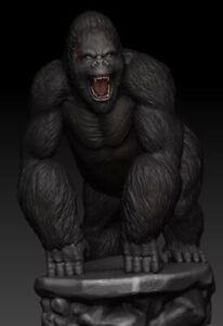 Battle Scared King Kong Resin Model Kit