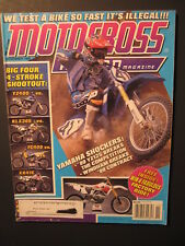 1998 November MOTOCROSS ACTION Magazine moto x mx dirt bike racer AHRMA MXA