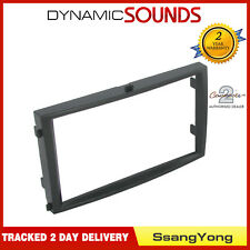 CT23SY06 Car CD Stereo Double Din Facia Panel Adaptor For SsangYong Rexton 2006>