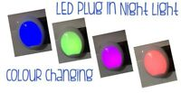 LED Colour Changing Plug In Night Light New
