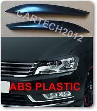 VW Passat B7 sourcils en plastique abs spoiler, tuning