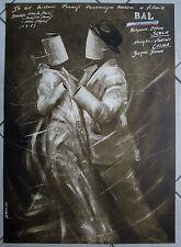Le Bal / Ball -  Ettore Scola - Polish Poster - Pagowski