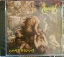 Apoplexy - Monarchy Of Damned(CD/2018)NUCLEAR DEATH BETRAYER SUPURATION FUNEST