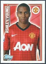 TOPPS 2012/13 PREMIER LEAGUE #126-MANCHESTER UNITED-ASHLEY YOUNG