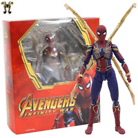 Spider-Man:Avengers Infinity War PS4 Iron Spider SHF Action Figure - New WithBox