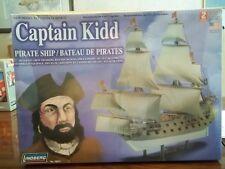 "Captain Kidd Pirate Ship 14"" Long by Lindberg Model Kit"