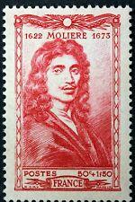 FRANCE CÉLÉBRITÉS MOLIERE POQUELIN    TIMBRE NEUF N° 612  **  MNH 1944  B4