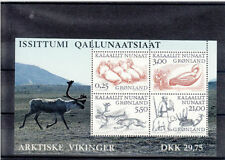 Nature Single Greenlandic Stamps