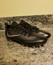 Nike Men's Size 11 Black Silver Vapor Untouchable Pro Football Cleat 833385-002