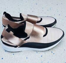 Steve Madden Arctic Rose Gold Slip On Trainers Shoe Size 7UK (EU40)