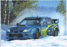 Petter Solberg Subaru art print