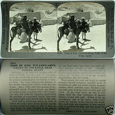 Keystone Stereoview KING TUT's TOMB Valley of The Kings, EGYPT 600/1200 Card Set
