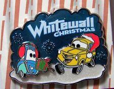 Disney Pin Whitewall Christmas Luigi & Guido CARS