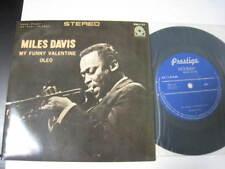 Miles Davis My Funny Valentine Oleo Japan Vinyl EP 7 inch Single John Coltrane 7