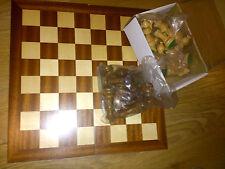 Chess set-palissandre et buis pieces