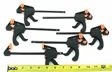 6PC SET QUICK RELEASE MINI SLIDING BAR CLAMPS THAT GRIP