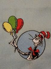 Personalized Embroidery Blanket Cat in the Hat 36x58 inches