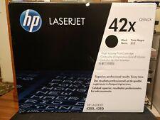 HP Laserjet 42X (Q5942X) Black Toner Cartridge 4250 4350 NEW in Box Black