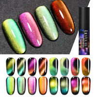 LILYCUTE 9D Magnetic Cat Eye Gel Polish Soak Off UV LED Nail Art Gel Varnish DIY