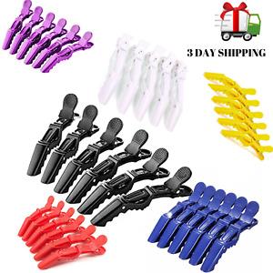 10 Pcs alligator hair clip salon croc hair style clips sectioning hair claw LY