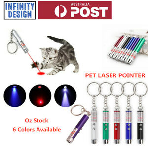 Mini Cat Dog Pet Toy Red Laser Light LED Pointer Pen Lazer Interactive Training