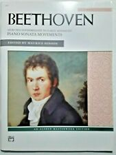 Beethoven - Selected Intermediate to Early Advanced Sonata Movements for Piano