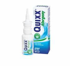 QUIXX ALERGENY spray do nosa  nose alergia katar WODA MORSKA aloes 30 ml