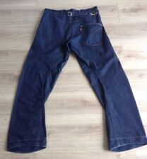LEVI'S JEANS TWISTED / ENGINEERED CINCH BACK SIZE 32 X 32 10TH ANNIVERSARY VGC
